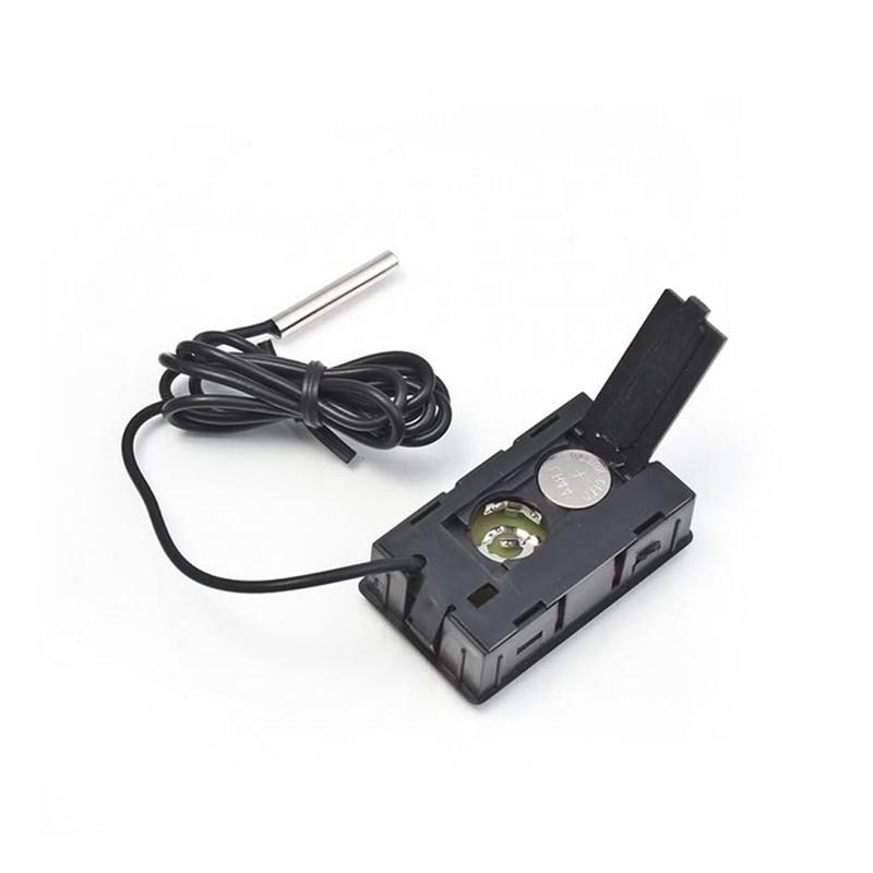 Электронный термометр с выносным водонепроницаемым зондом для аквариума/ холодильника 165110