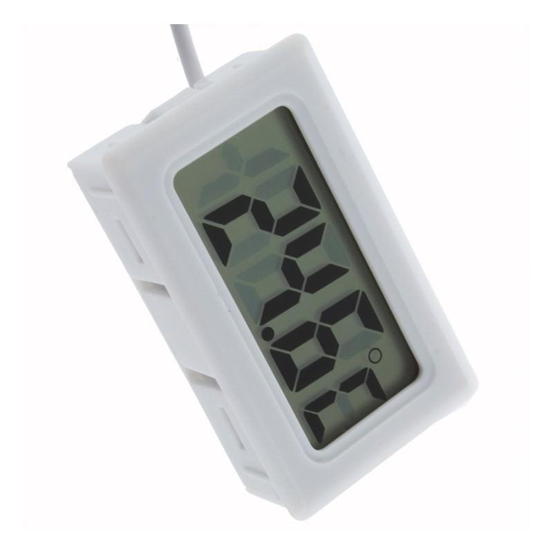 Электронный термометр с выносным водонепроницаемым зондом для аквариума/ холодильника 165113