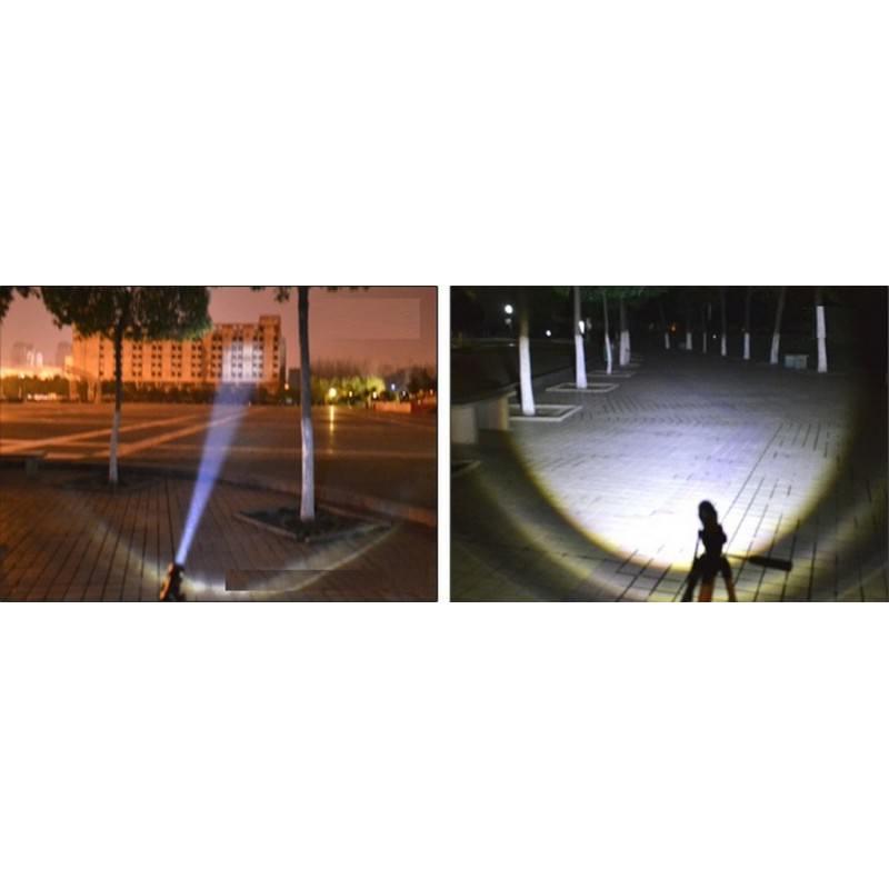 Телескопический фонарь-бита для самозащиты и не только 165217