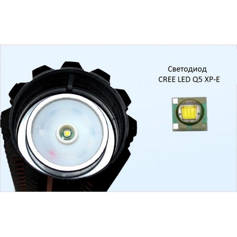 Телескопический фонарь-бита для самозащиты и не только 165225