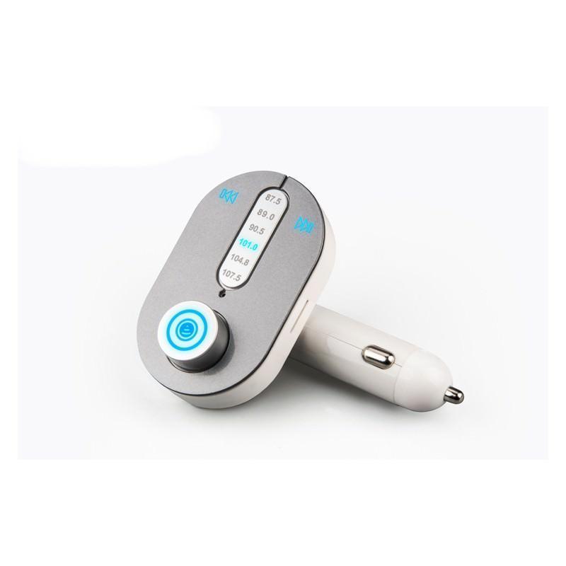 Автомобильный Bluetooth-трансмиттер (FM-передатчик) + USB зарядное T9 165254