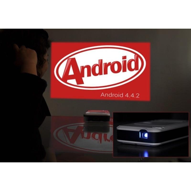 Портативный DLP-проектор – Android 4.4, проекция 20-150 дюймов, 1080p, 3000:1, Wi-Fi, WiDi, DLNA, 260 люмен 185284