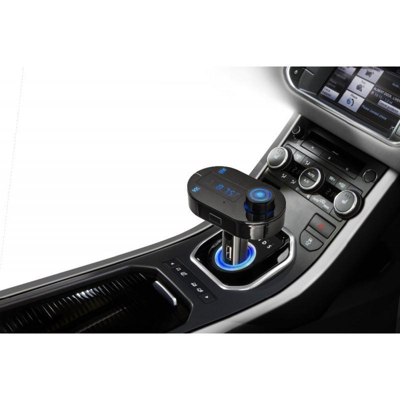 Автомобильный Bluetooth-трансмиттер (FM-передатчик) + USB зарядное T9 165258