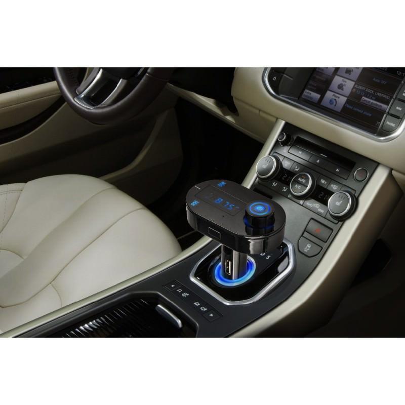 Автомобильный Bluetooth-трансмиттер (FM-передатчик) + USB зарядное T9 165259