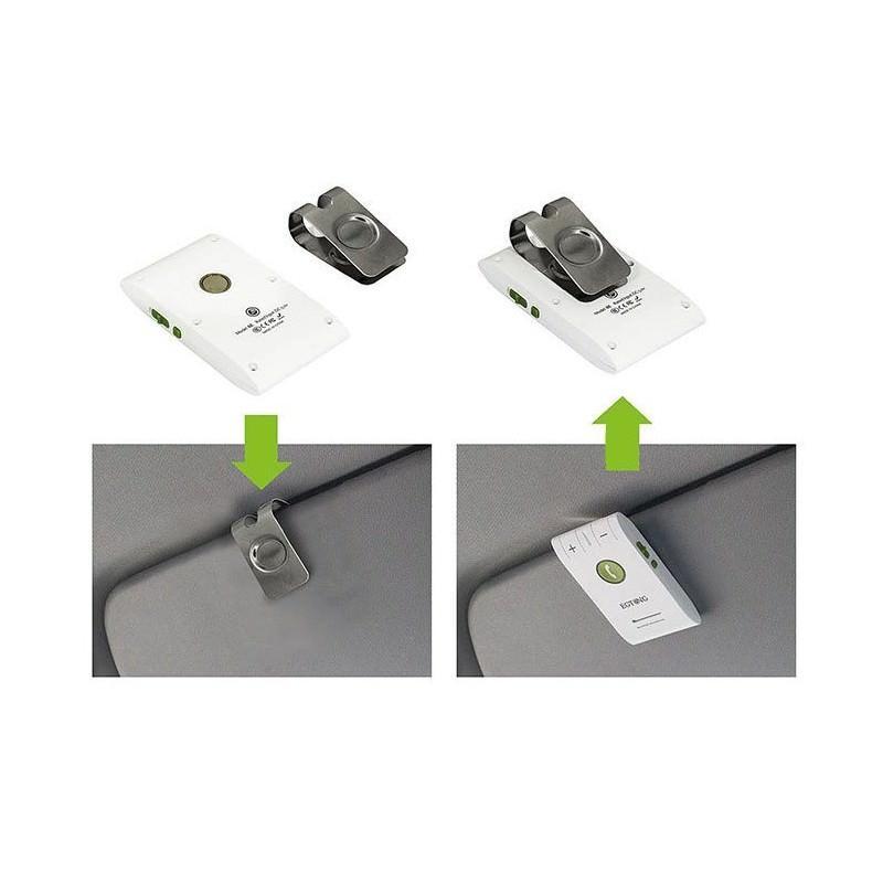 Автомобильный FM-трансмиттер Egtong 6E: Bluetooth-гарнитура, динамик 2Вт+чувствительный микрофон, сопряжение 2 смартфонов сразу 165296