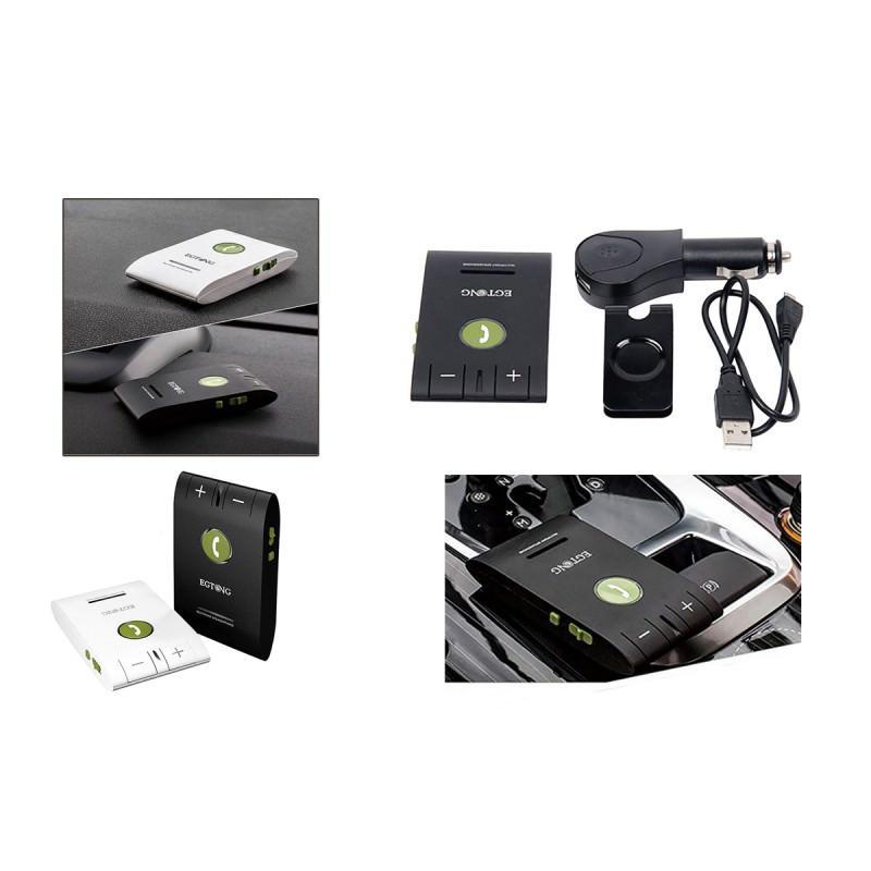 Автомобильный FM-трансмиттер Egtong 6E: Bluetooth-гарнитура, динамик 2Вт+чувствительный микрофон, сопряжение 2 смартфонов сразу 165302