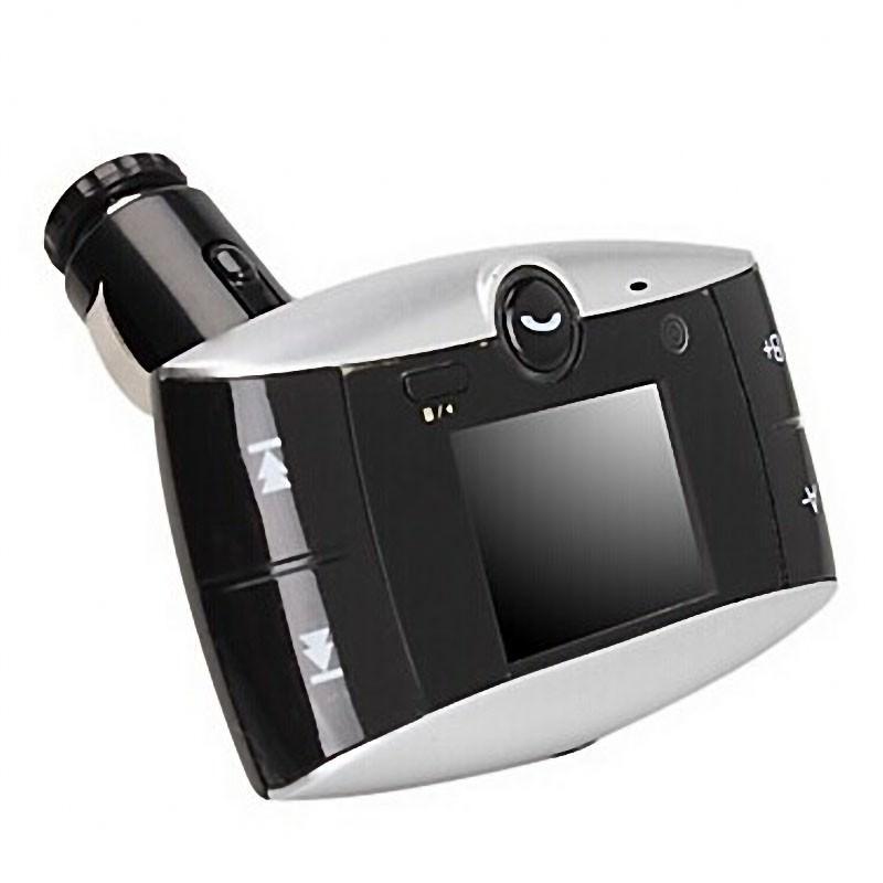 Автомобильный Bluetooth-трансмиттер (FM-передатчик) + USB зарядное Egtong с пультом ДУ: поддержка Micro SD 165308