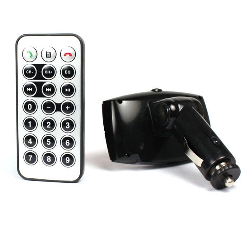 Автомобильный Bluetooth-трансмиттер (FM-передатчик) + USB зарядное Egtong с пультом ДУ: поддержка Micro SD 165311