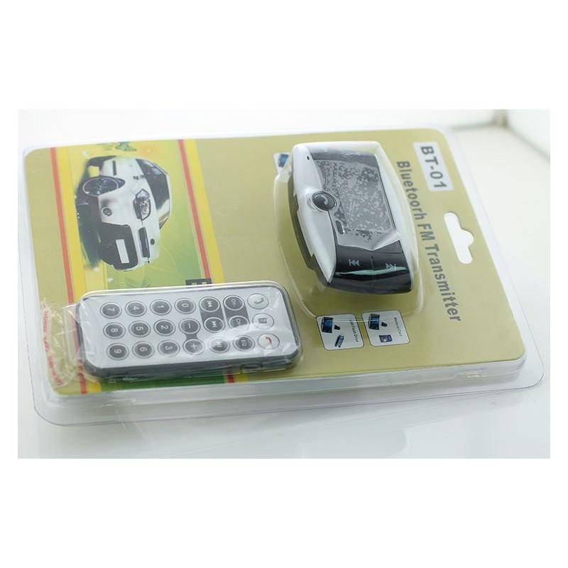 Автомобильный Bluetooth-трансмиттер (FM-передатчик) + USB зарядное Egtong с пультом ДУ: поддержка Micro SD 165313