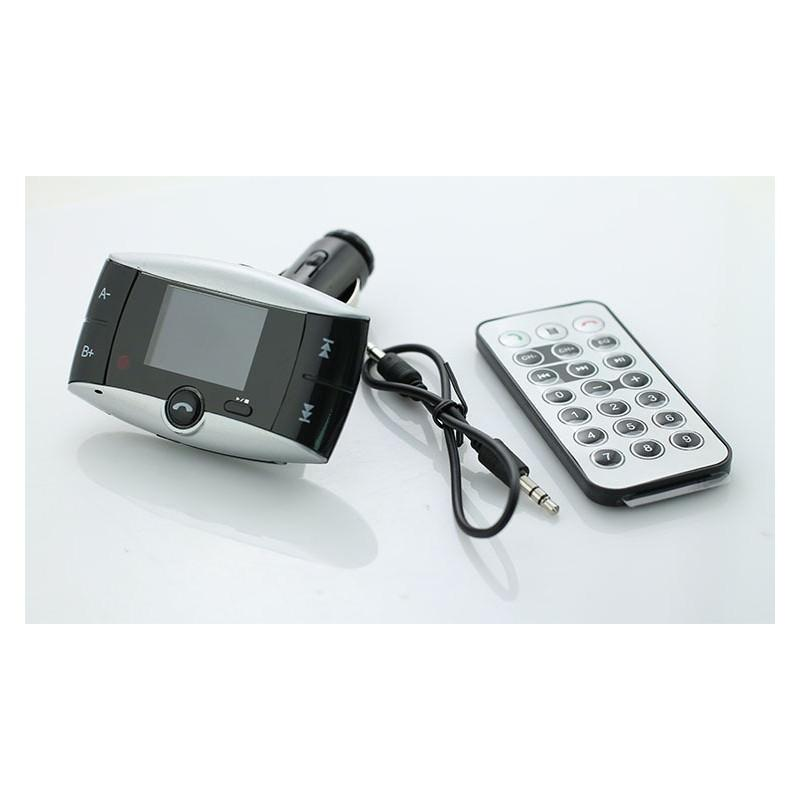 Автомобильный Bluetooth-трансмиттер (FM-передатчик) + USB зарядное Egtong с пультом ДУ: поддержка Micro SD 165314