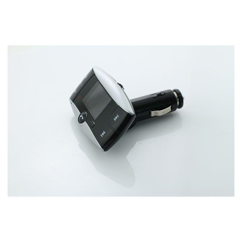 Автомобильный Bluetooth-трансмиттер (FM-передатчик) + USB зарядное Egtong с пультом ДУ: поддержка Micro SD 165315