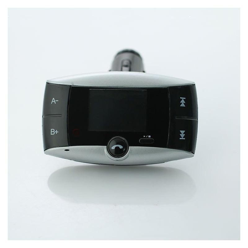Автомобильный Bluetooth-трансмиттер (FM-передатчик) + USB зарядное Egtong с пультом ДУ: поддержка Micro SD 165317