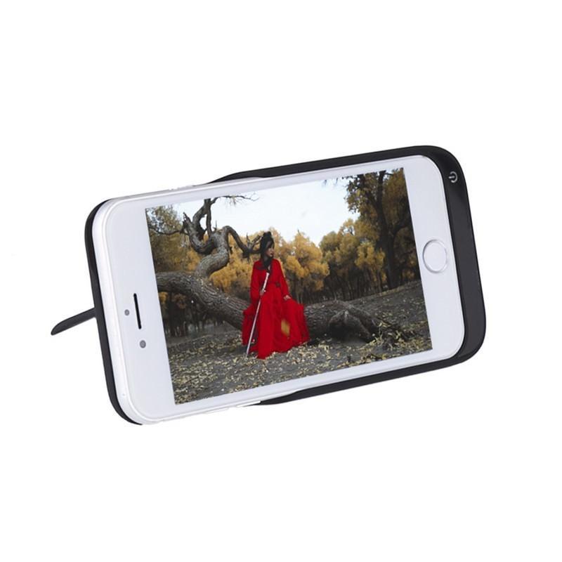 Батарея-чехол для iPhone 6, 6S, 7 – 5500 мАч, индикатор зарядки, дополнительный USB порт 165331