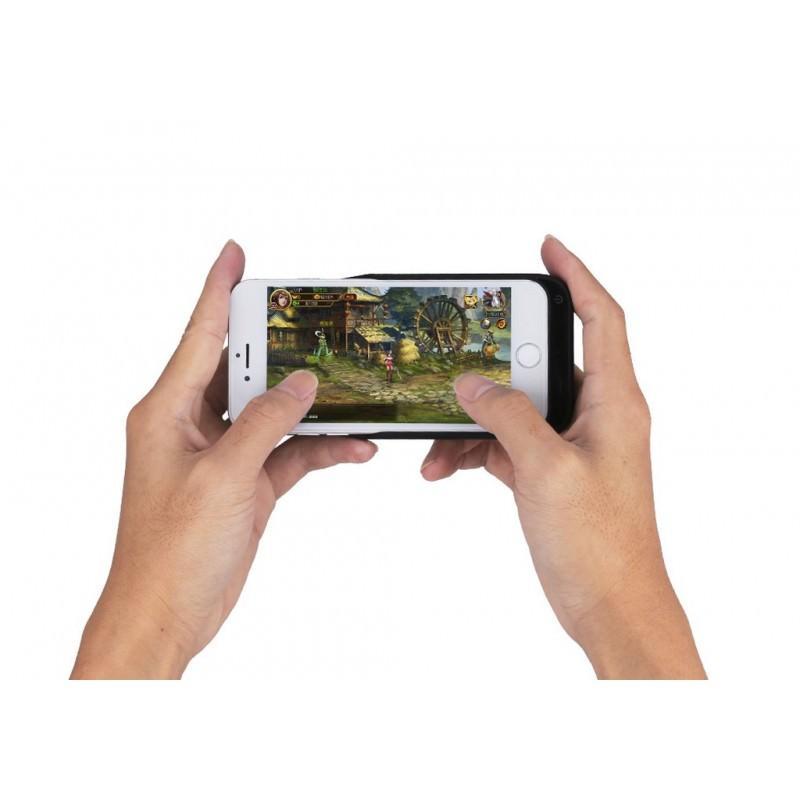 Батарея-чехол для iPhone 6, 6S, 7 – 5500 мАч, индикатор зарядки, дополнительный USB порт 165334