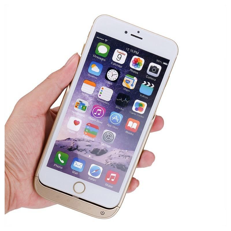 Чехол-батарея для iPhone 6 Plus и 7 Plus – 8000 мАч, индикаторы заряда, дополнительный USB порт 165386