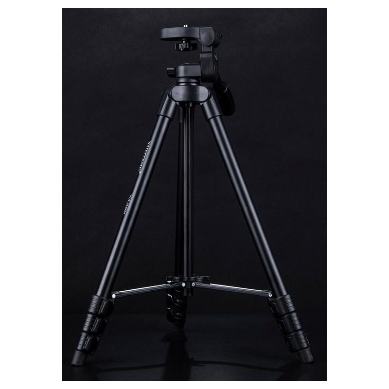 Компактный штатив Yunteng 521 – 42-136 см, 1/4″, пластик + алюминий, максимально 1,5 кг 165464