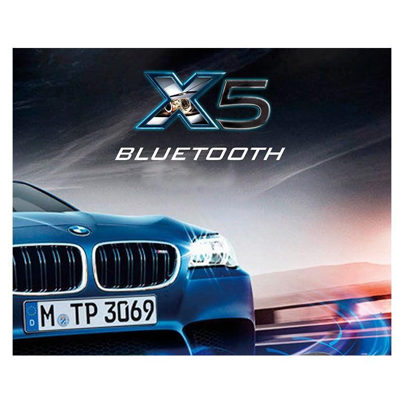 Универсальный автомобильный Bluetooth-трансмиттер (FM-передатчик) + USB зарядное Х5: поддержка Micro SD, флешки 165515