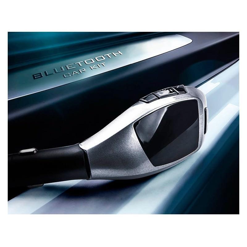 Универсальный автомобильный Bluetooth-трансмиттер (FM-передатчик) + USB зарядное Х5: поддержка Micro SD, флешки 165516