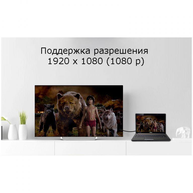 23198 - Кабель-переходник высокой четкости с HDMI на DVI/ с DVI на HDMI