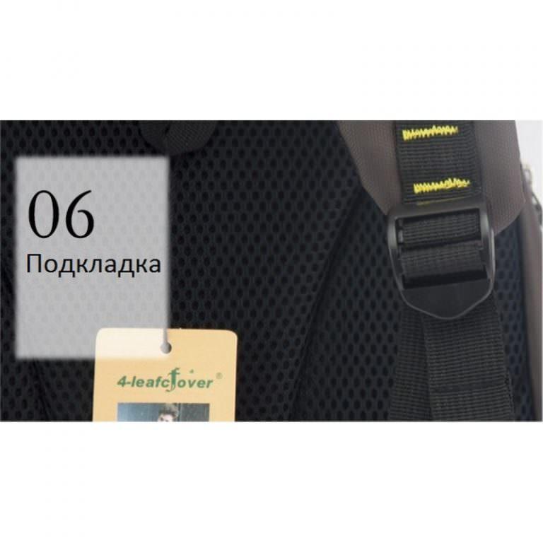 23283 - Стильный рюкзак 4 LEAF CFOVER для ноутбука и не только