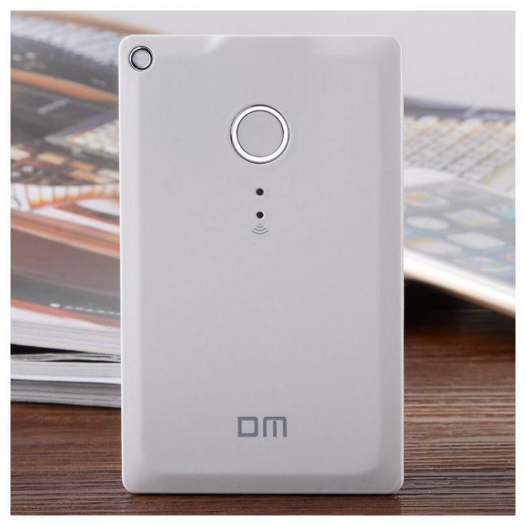 23404 - Wi-Fi жесткий диск (внешний беспроводной накопитель) DM WFD009 для смартфона и планшета - поддержка iOS, Android и Windows, 32 Гб / 64 Гб