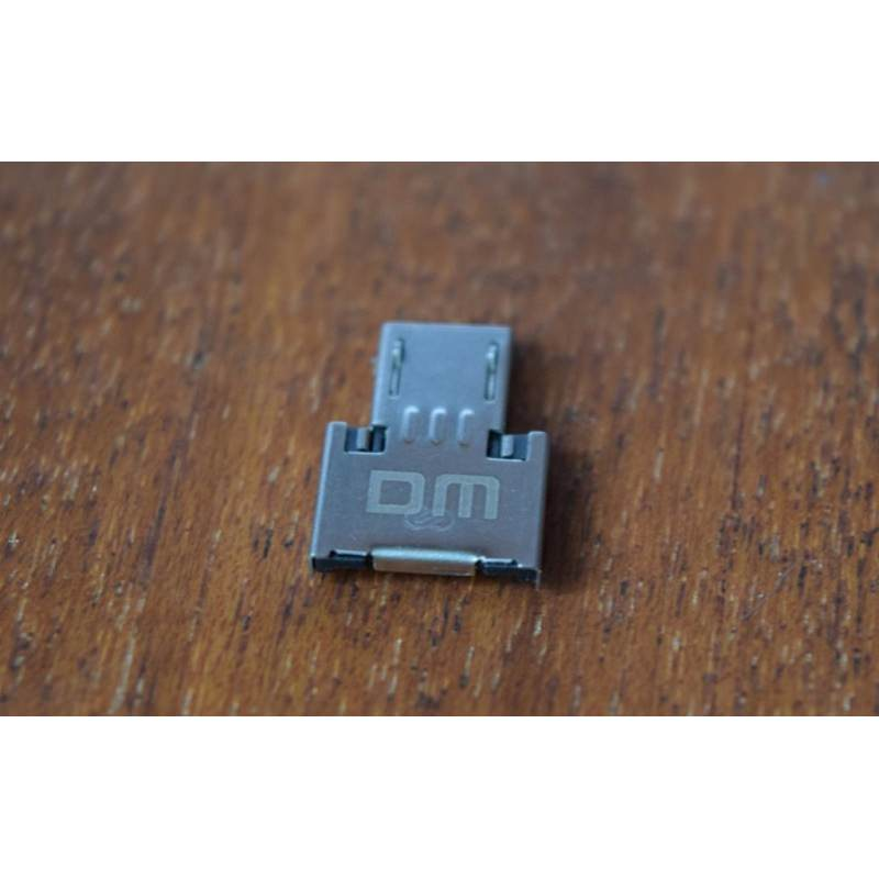 Компактный micro USB/OTG адаптер DM для смартфона и планшета 165958