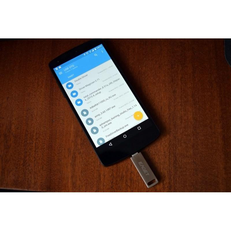 Компактный micro USB/OTG адаптер DM для смартфона и планшета 165960