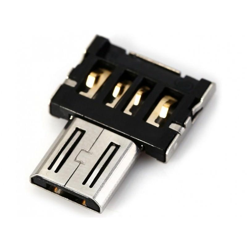 Компактный micro USB/OTG адаптер DM для смартфона и планшета 165963