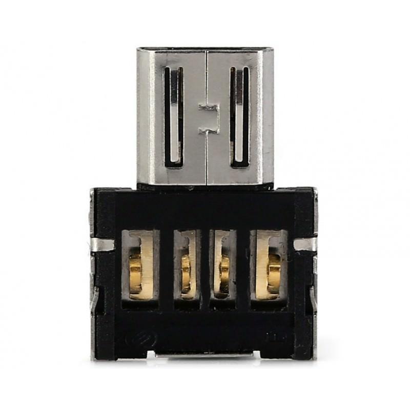 Компактный micro USB/OTG адаптер DM для смартфона и планшета 165964