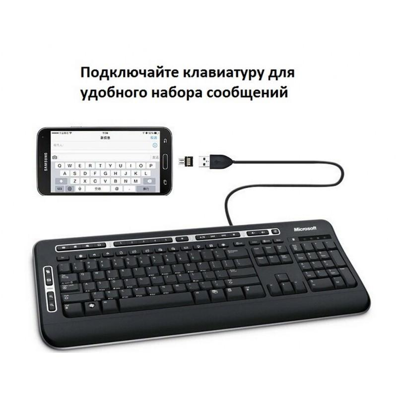 Компактный micro USB/OTG адаптер DM для смартфона и планшета 165966