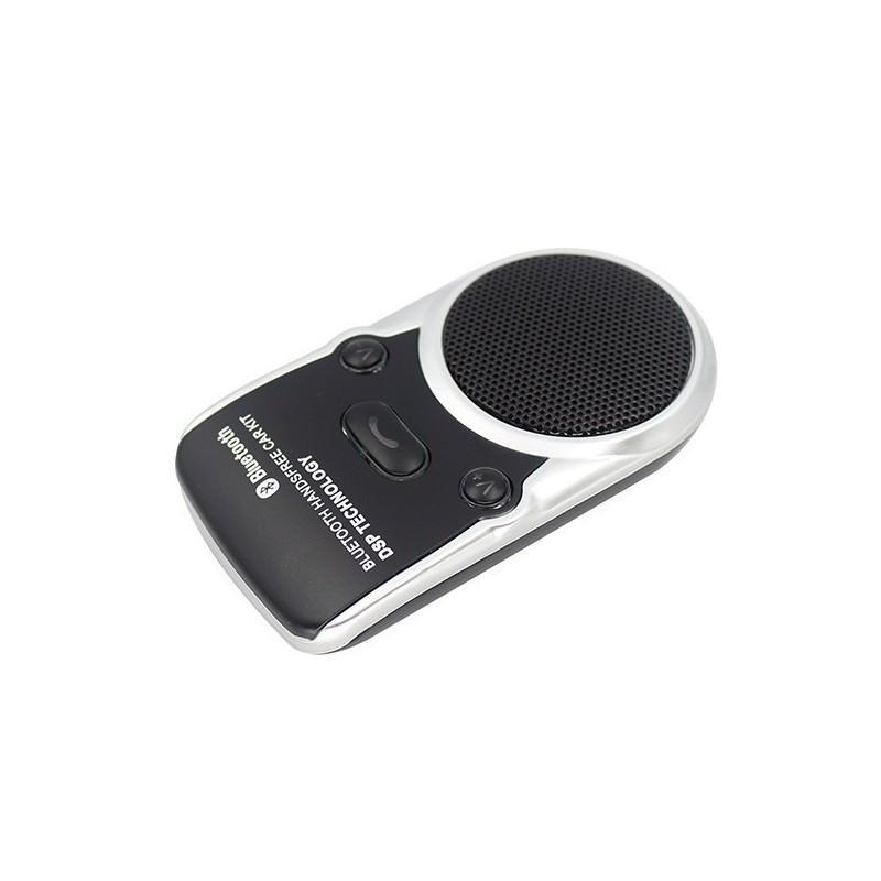 Автомобильная Bluetooth-гарнитура Egtong Solar с солнечной батареей: система эхоподавления DSP, зарядка от солнца/ USB-порта