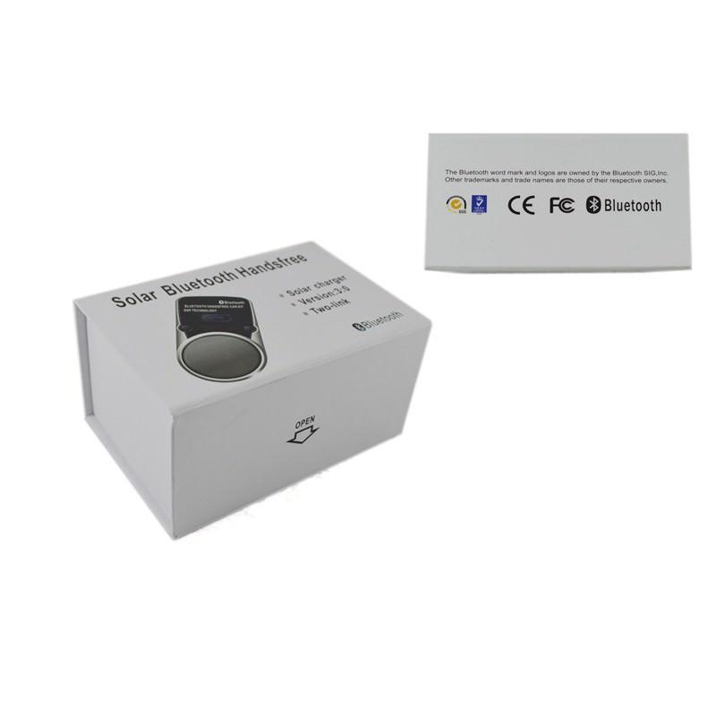 Автомобильная Bluetooth-гарнитура Egtong Solar с солнечной батареей: система эхоподавления DSP, зарядка от солнца/ USB-порта 166412
