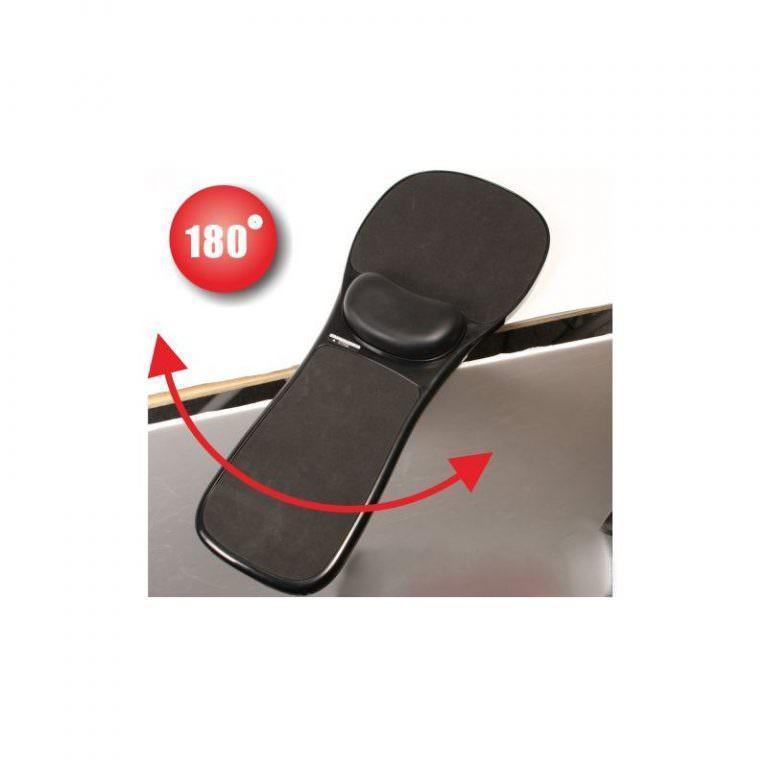 23925 - Эргономичная подставка под руку с ковриком для мыши: подушка из memory foam, профилактика туннельного синдрома кисти
