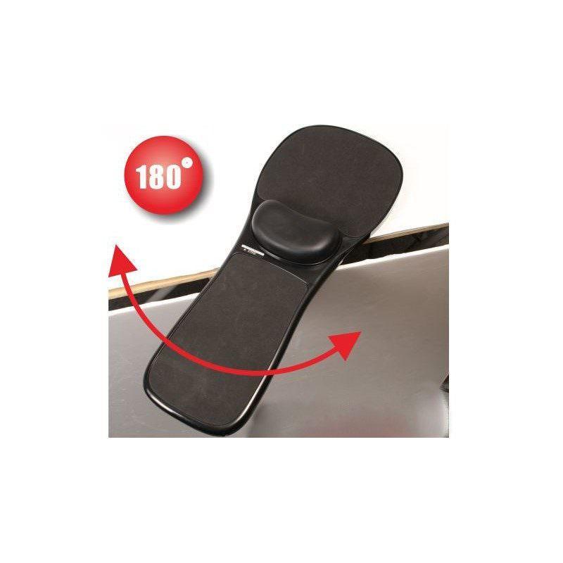 Эргономичный коврик-подставка под мышь для стола, кресла: подушка из memory foam, профилактика туннельного синдрома кисти