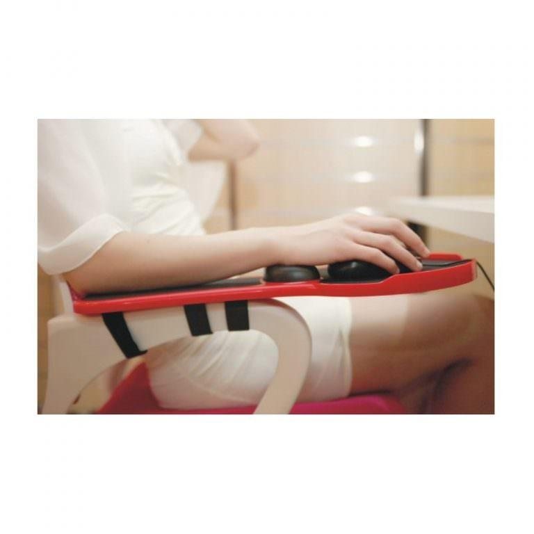 23936 - Эргономичная подставка под руку с ковриком для мыши: подушка из memory foam, профилактика туннельного синдрома кисти