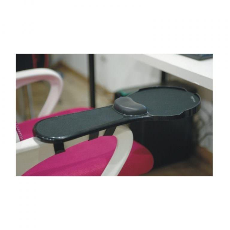 23937 - Эргономичная подставка под руку с ковриком для мыши: подушка из memory foam, профилактика туннельного синдрома кисти