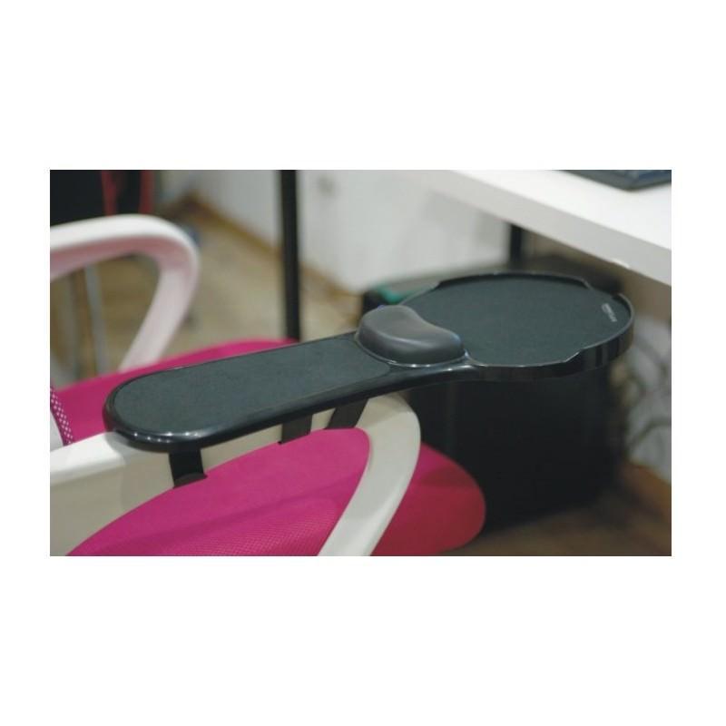 Эргономичная подставка под руку с ковриком для мыши: подушка из memory foam, профилактика туннельного синдрома кисти 166432