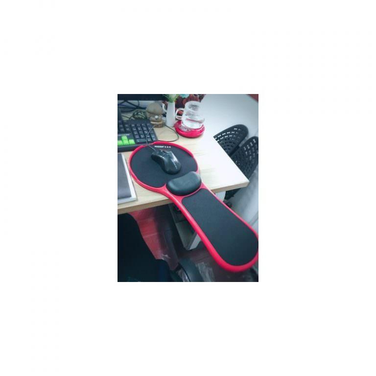 23945 - Эргономичная подставка под руку с ковриком для мыши: подушка из memory foam, профилактика туннельного синдрома кисти