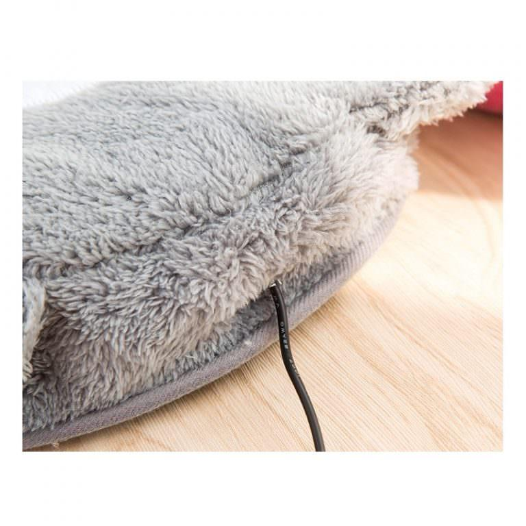 24065 - Плюшевая грелка + коврик для мыши Рукогрейка