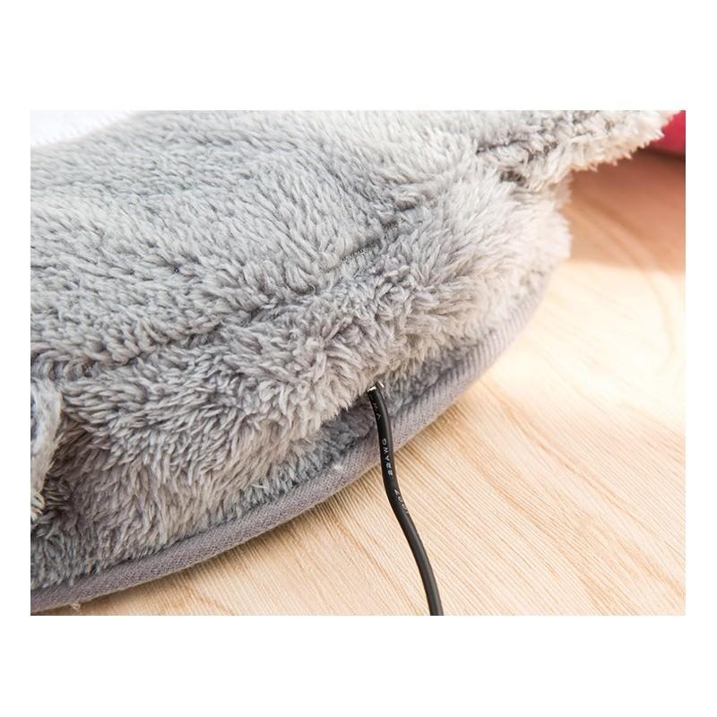 Плюшевая грелка + коврик для мыши Рукогрейка 166585