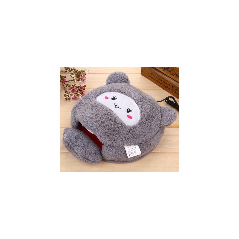 Плюшевая грелка + коврик для мыши Рукогрейка 166591