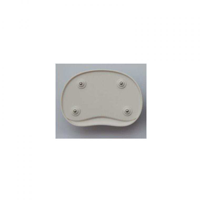24137 - Эргономичный коврик для мышки U-LITA: колесики, поддержка для запястья из Memory Foam, профилактика туннельного синдрома