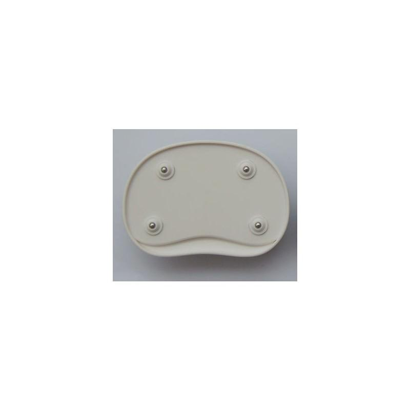 Эргономичный коврик для мышки U-LITA: колесики, поддержка для запястья из Memory Foam, профилактика туннельного синдрома - Черно-белый