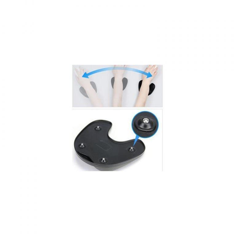 24140 - Эргономичный коврик для мышки U-LITA: колесики, поддержка для запястья из Memory Foam, профилактика туннельного синдрома
