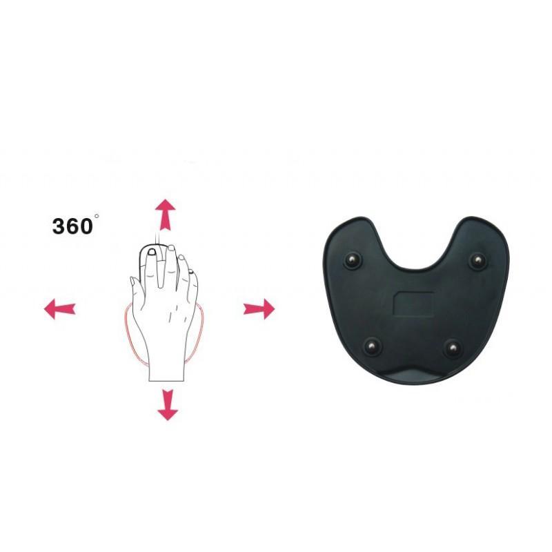 Эргономичный коврик для мышки U-LITA: колесики, поддержка для запястья из Memory Foam, профилактика туннельного синдрома 166705