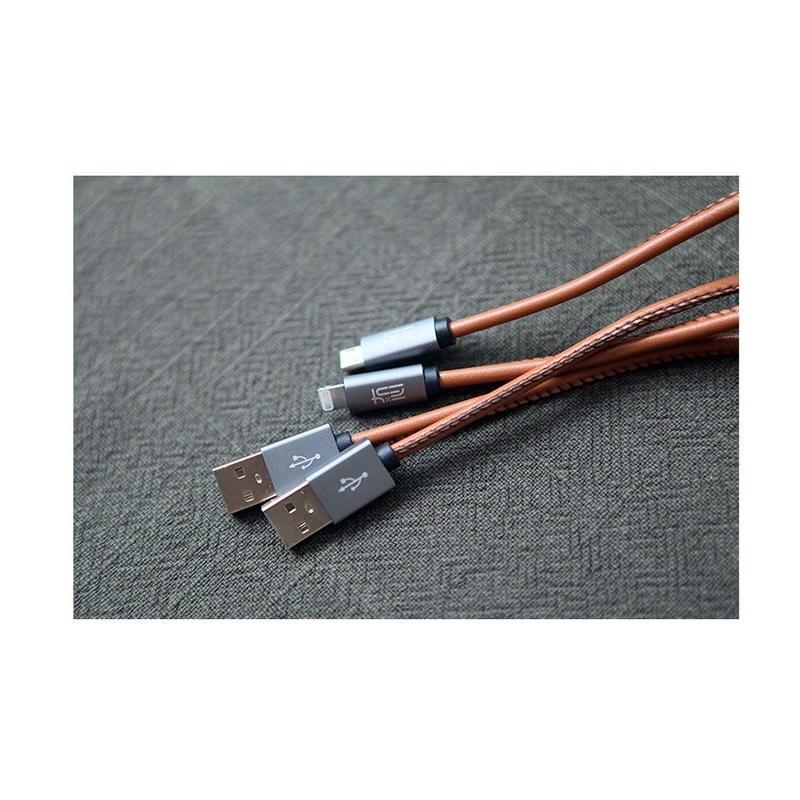 Кожаный высокоскоростной USB-кабель: Micro USB, выходной ток 2,4 А 166905