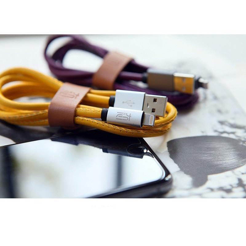 Кожаный высокоскоростной USB-кабель: Micro USB, выходной ток 2,4 А 166908