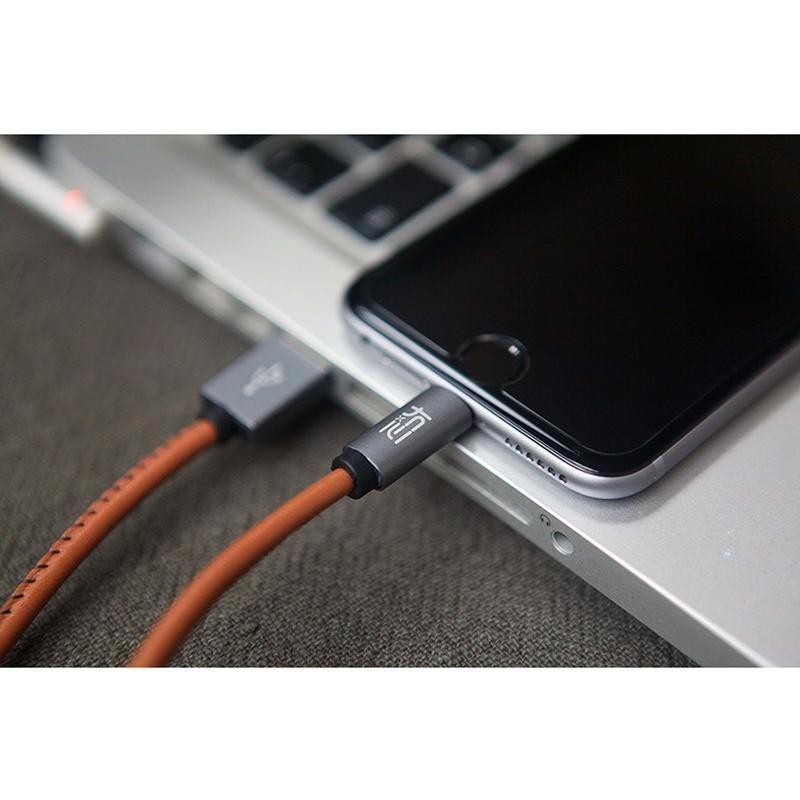 Кожаный высокоскоростной USB-кабель: Micro USB, выходной ток 2,4 А 166909