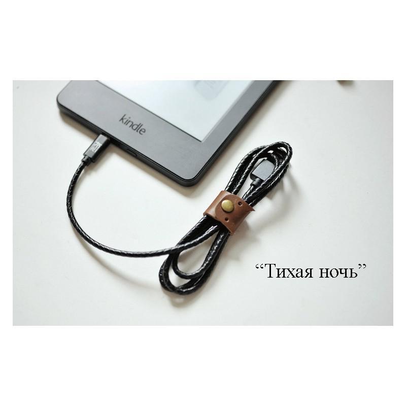Симпатичный кожаный USB-кабель: Micro USB, выходной ток 2,4 А 166933