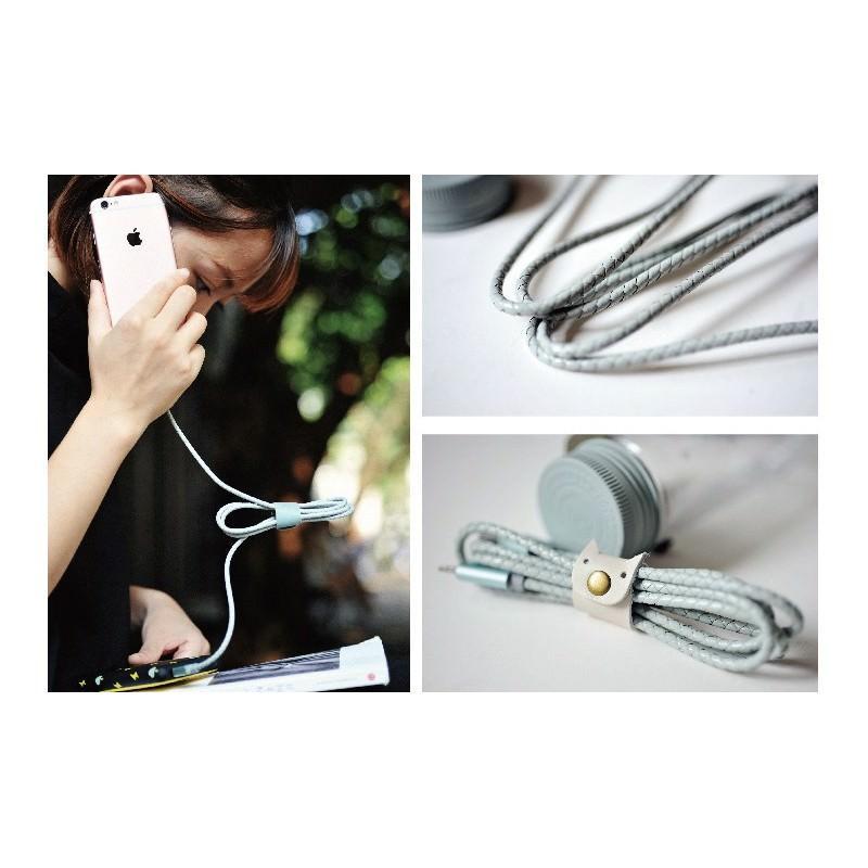 Симпатичный кожаный USB-кабель: Micro USB, выходной ток 2,4 А 166936